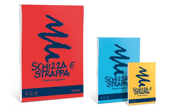 Schizza e Strappa Favini 21x29.7 cm